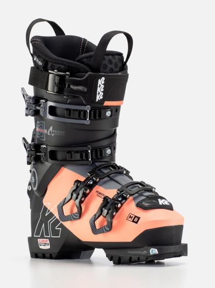 K2 Women's Mindbender 110 Alliance Gripwalk Ski Boots '22 (front/side)