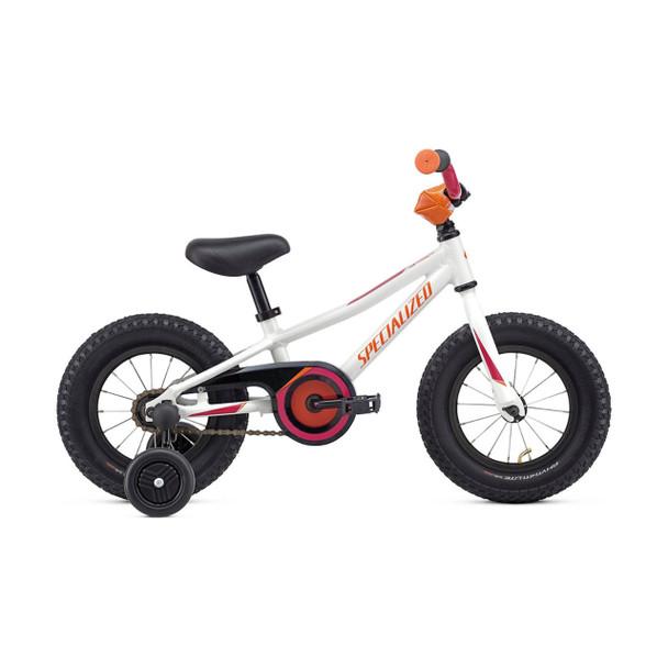 Specialized Riprock Coaster 12 (White Metallic/Rainbow Flake Pink/Moto Orange)