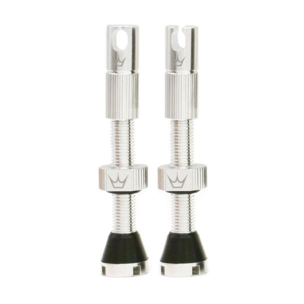 Peaty's Tubeless Valves (MK2) Silver