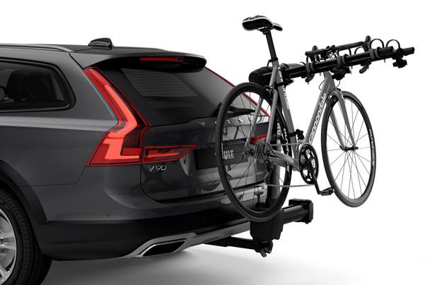 Thule Apex XT Swing 4-Bike Rack (on vehicle)