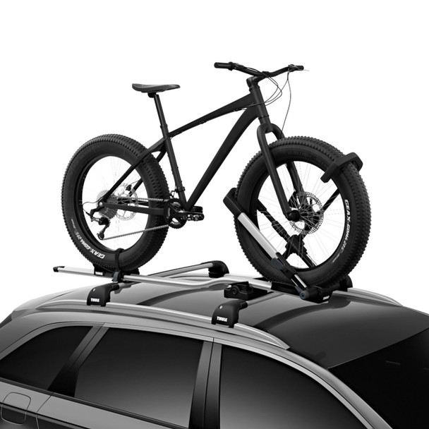 Thule UpRide Bike Rack (on vehicle)