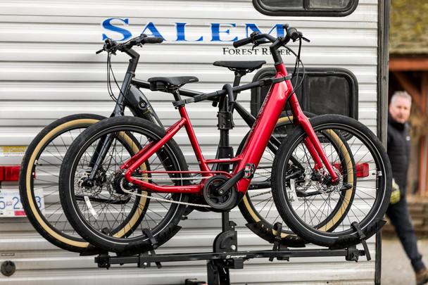 Swagman E-Spec 2 Bike Platform Rack (on RV)