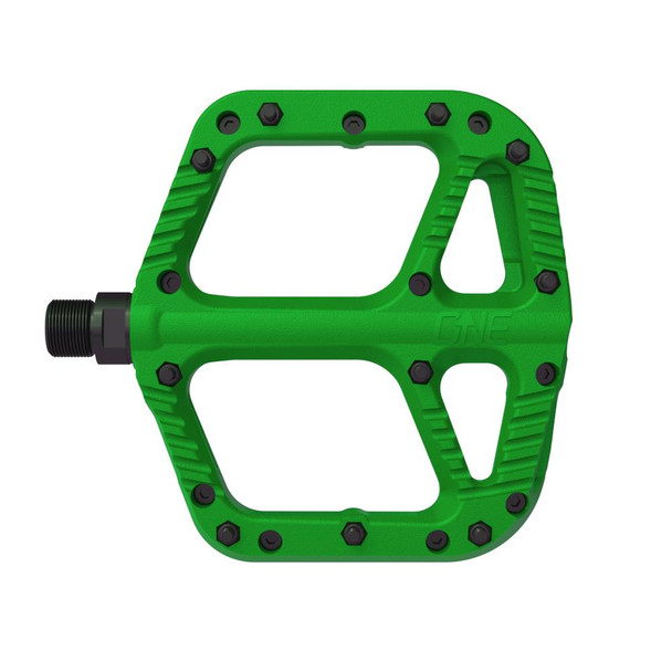 OneUp Components Composite Pedal Green