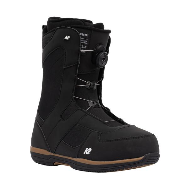 K2 Men's Market Snowboard Boots 2022 (Front)