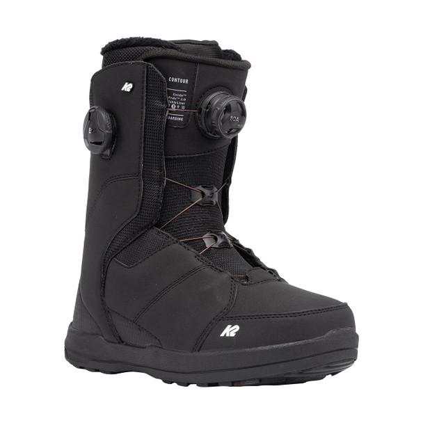 K2 Women's Contour Snowboard Boots 2022 (Front)
