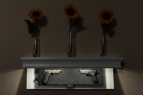 The 36C Contemporary Gun Shelf