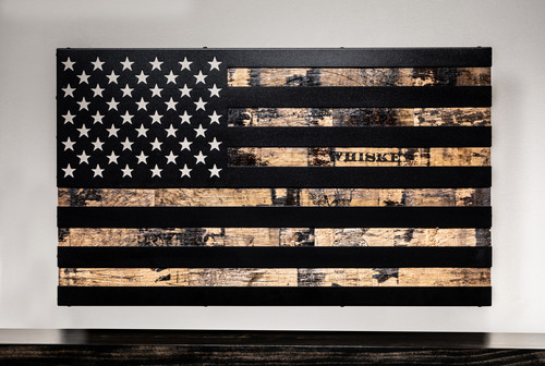 The 1791 Whiskey Barrel Flag - Special Edition