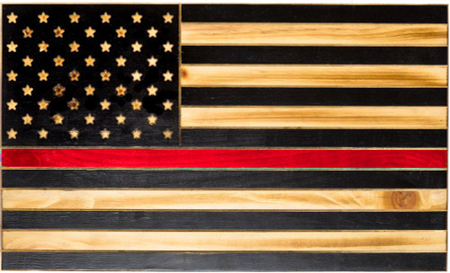 The Thin Red Line Tactical Flag