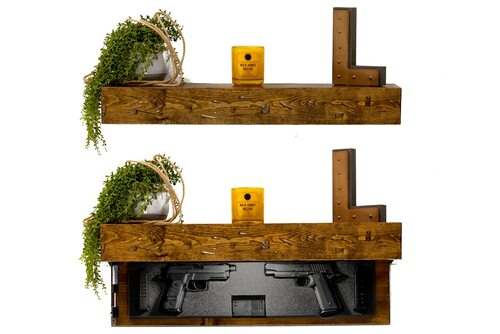 RUSTIC Pistol Shelf Interior Foam