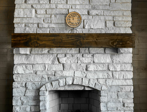 The Tactical Fireplace Mantle