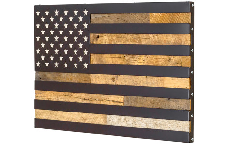 The 4 Laws Flag Wall Art (no compartment version)