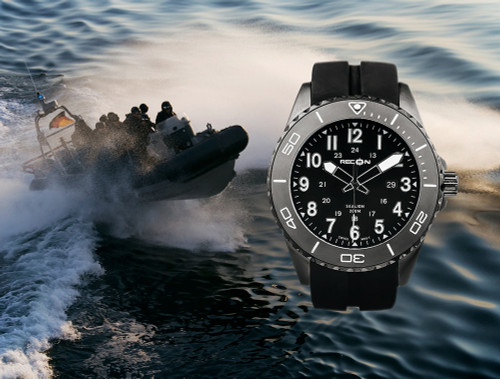 The Recon SEALION Tactical Dive Watch