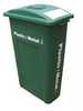 Plastics/Metal Busch Recycling Container