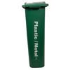 Hallway Recycling Bin for Plastic/Metal - narrow view