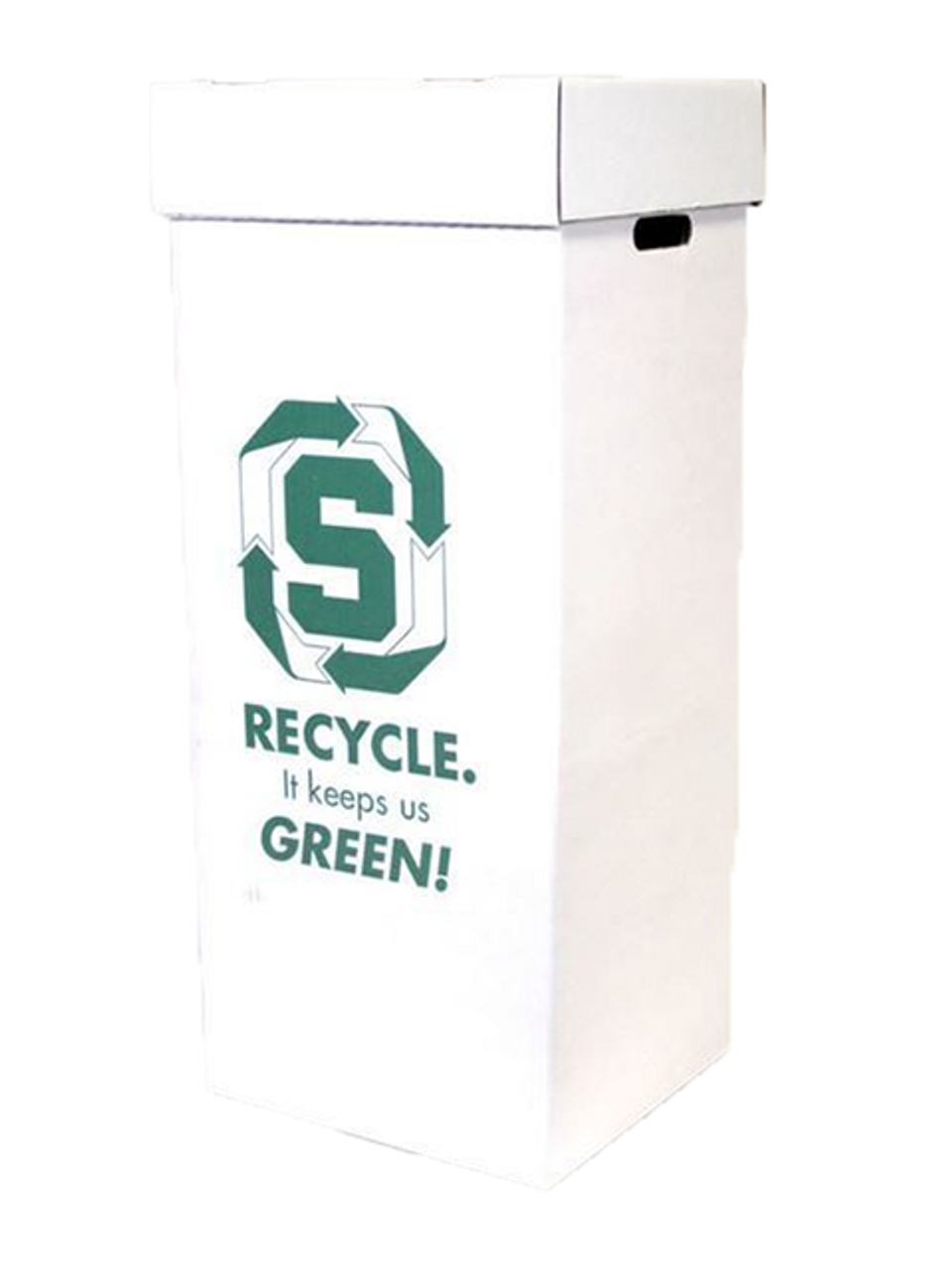 Office Paper Intermediate Recycling Container