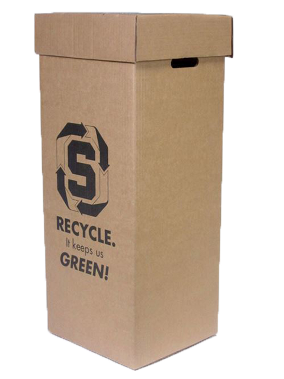 Mixed Paper Intermediate Recycling Container