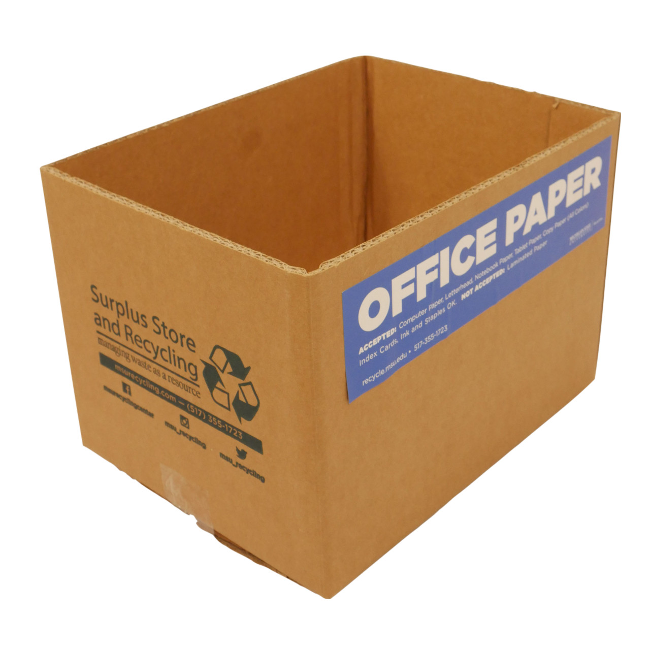 Personal Paper Recycling Box
