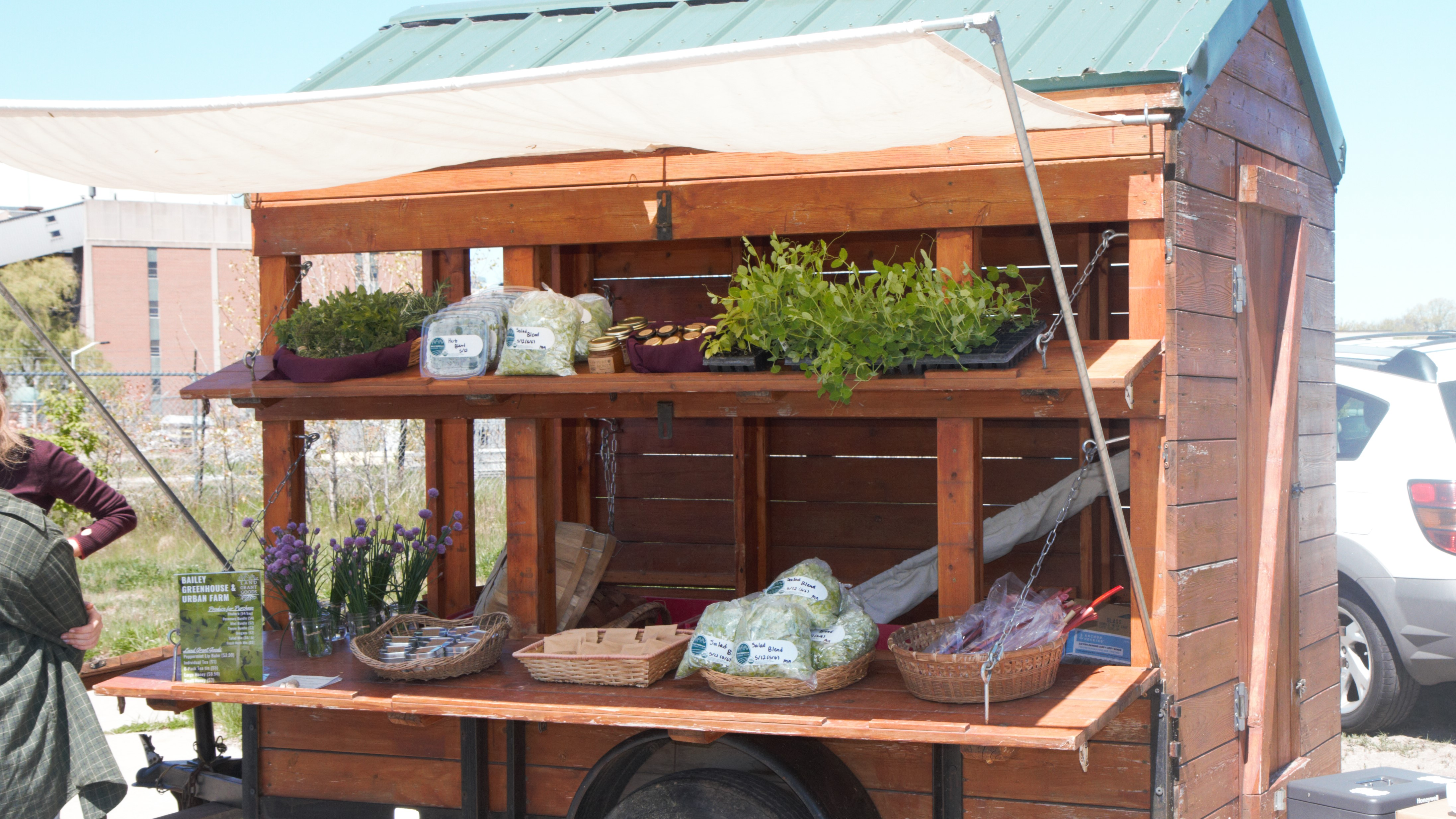 Summer Farm Stand Opens at the Drop-Off Center