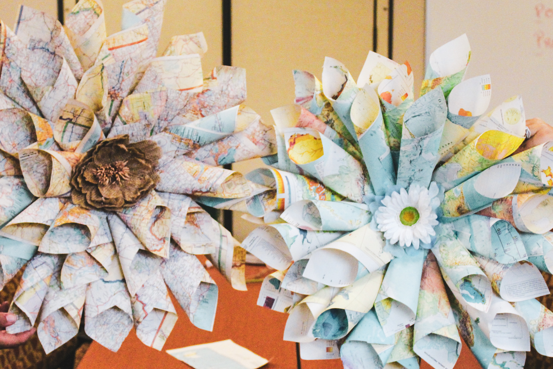 Upcycle Workshop transforms books to wreaths
