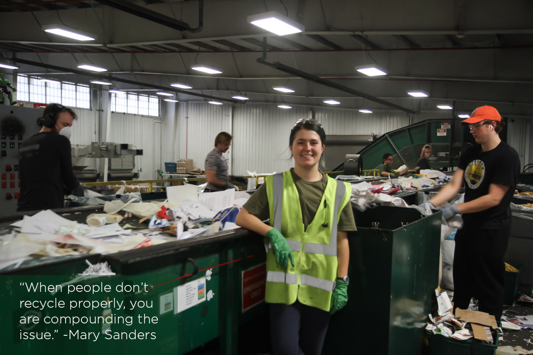Get to know MSU Recycling: Mary Sanders