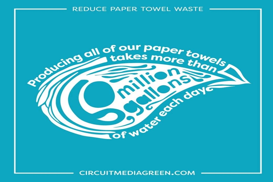 Student-Initiated Campaign Cuts Paper Towel Use