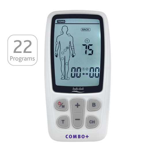 3-In-1 COMBO+ Electrotherapy Machine with 22 Programs