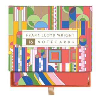 Frank Lloyd Wright Designs Notecard Box