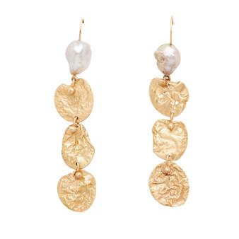 Mohave Bronze Pearl Earrings