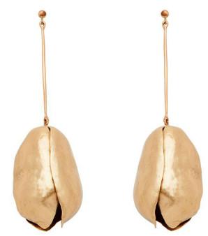Bronze Tulip Earrings