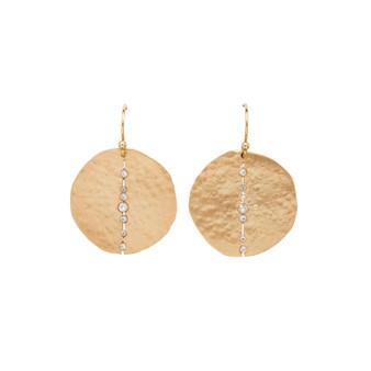 Bronze Orbit Earrings