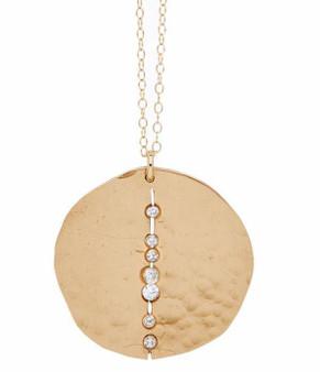Bronze Orbit Necklace