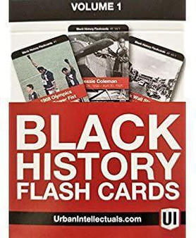 Black History Flash Cards Volume 1