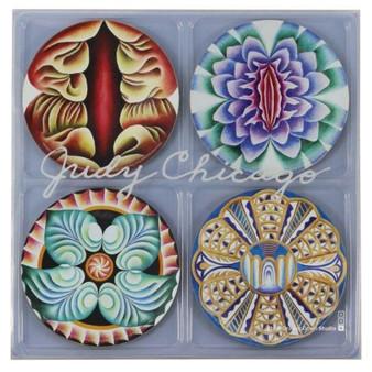 Judy Chicago Coaster Set
