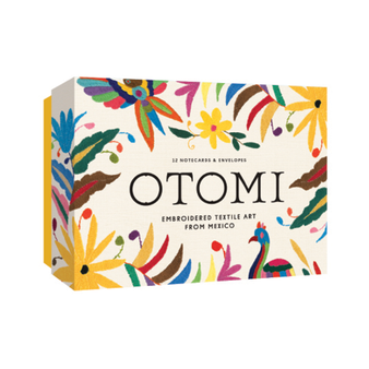 Otomi Notecards Box Embroidered Textile Art From Mexico