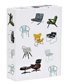 Mid Century Modern Chairs Playing Cards