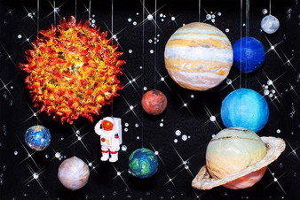 Over the Moon 100 Piece Puzzle