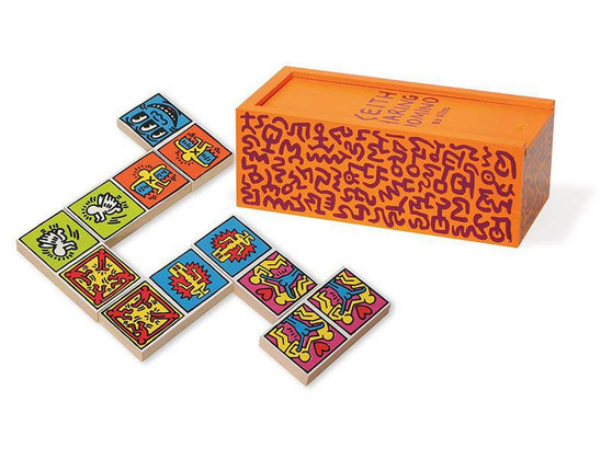 Keith Haring Dominoes