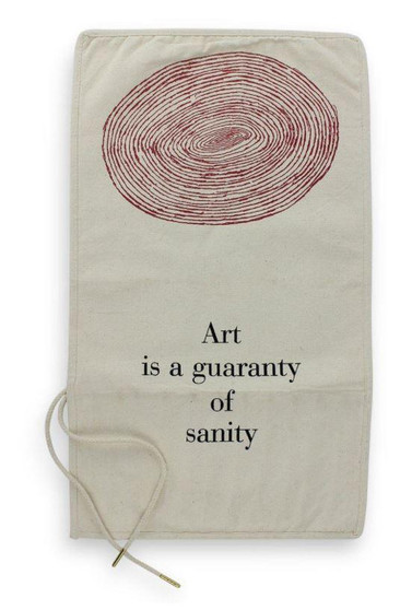 Louise Bourgeois Paint Brush Roll