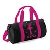 Personalised Girls Kids Dance Bag Pink Ballet Gymnastics Uniform Gym Kit