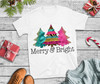 Christmas T Shirt Merry and Bright T Shirt