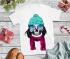Christmas T Shirt  New year skull T Shirt