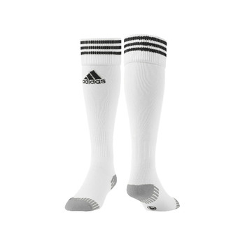 Adidas Unisex White and Black Socks