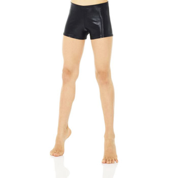 Mondor Black Shiny Shorts