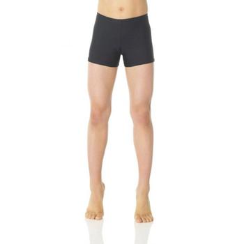 Mondor Black Matte Shorts