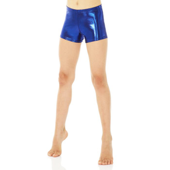 Mondor Dark Blue Shiny Shorts