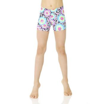 Mondor Umbrella Print Shorts