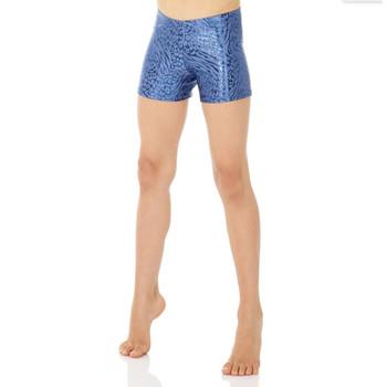 Mondor Stell Blue Print Shorts
