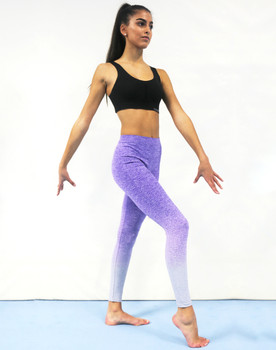 TL300 Womens seamless Fade out leggings