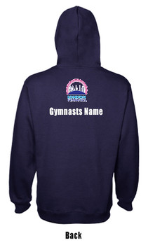 Hoodie London Gymnastics Club and Regional Grades  2020