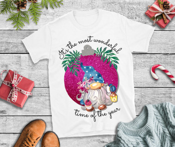 Christmas T Shirt Its A wonderful time of the year T Shirt